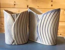 (V1) Brancaster vases