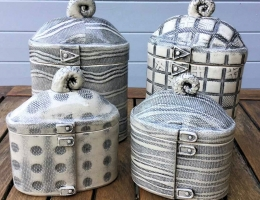 (V8) monochrome canisters