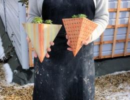 (PO11) deco wall planters