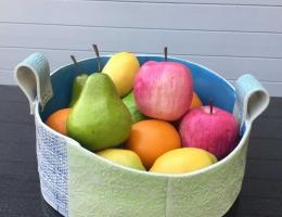 (H7) tropical fruit bowl