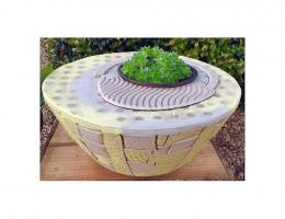 Ceramic planting bowl 25cm diameter